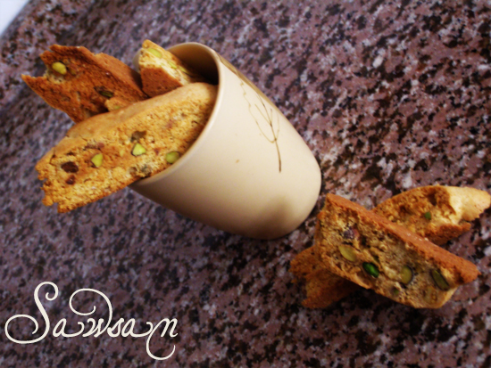 is for biscotti | Chef in disguise