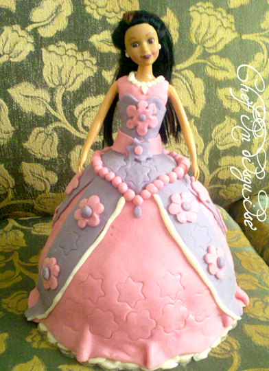 Princess cake tutorialpart 1 marshmallow fondant Chef in disguise