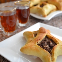 "Lebanese meat pies ""sfeeha"""
