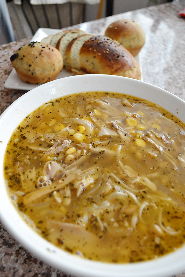 Stock to soup to consommdaring cooks september challenge chef in chicken noodle soup recipe from bbc good food forumfinder Image collections