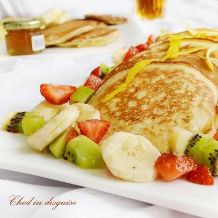 lemony ricotta pancakes