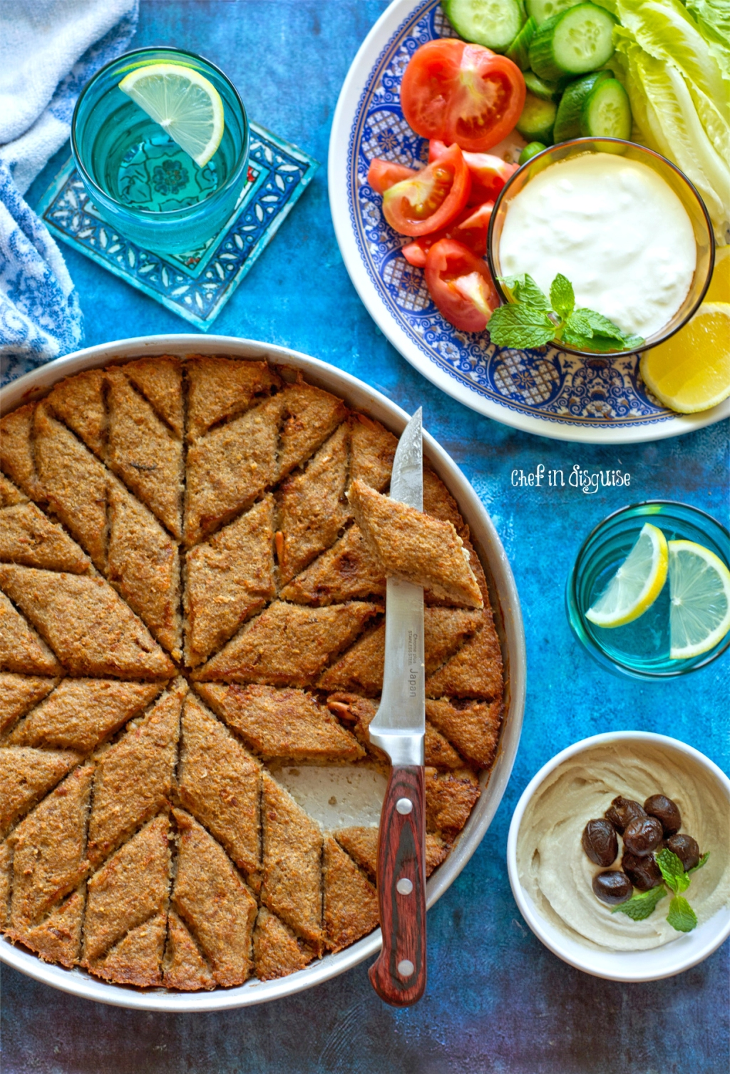 Baked kubbeh kibbeh bel saineh chef in disguise if you had a hard time pronouncing my awwameh or hareeseh post titles i thought i would add another middle eastern dish to you list of yummy yet tricky to forumfinder Image collections