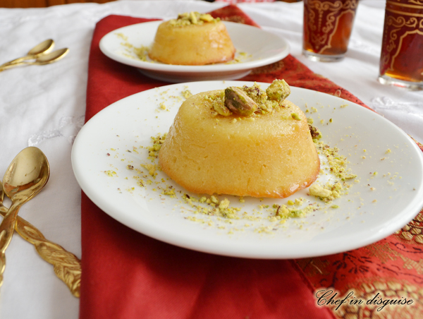 Hareeseh or hareesa semolina coconut dessert chef in disguise please forumfinder Choice Image