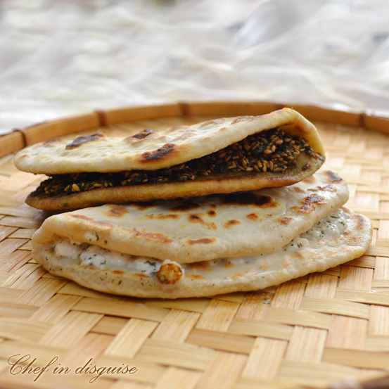 Indian naan meets arabic manousheh chef in disguise the forumfinder Choice Image