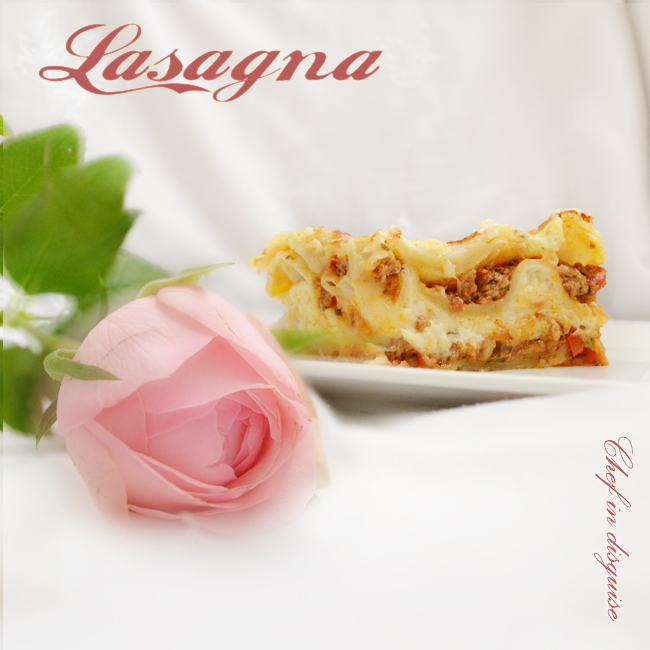 Four cheese lasagna – Chef in disguise