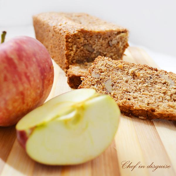 maple apple oat bread