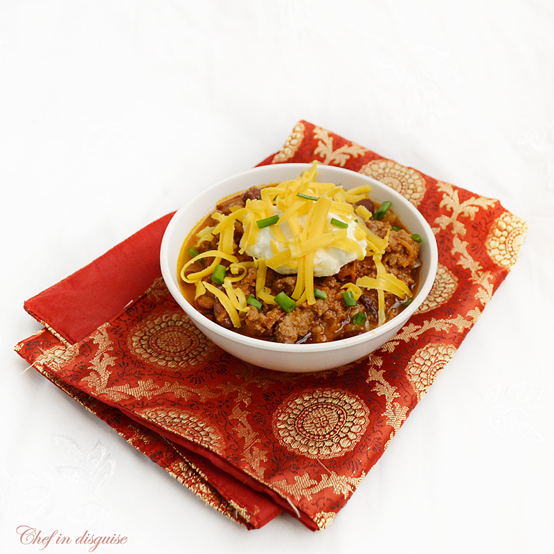 Chili con carne with a mexican twist | Chef in disguise