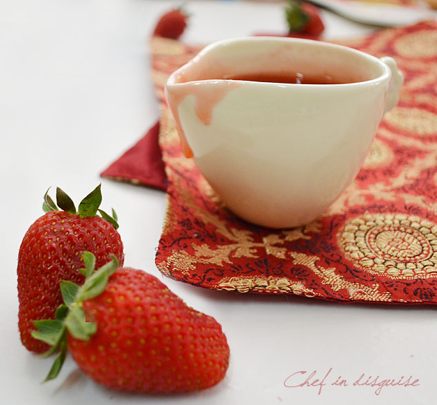 Homemade strawberry syrup and a strawberry round up – Chef in ...