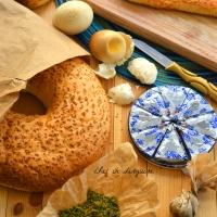 Ka3ek  bel semsem (sesame bread)