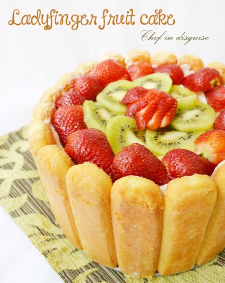 lady finger fruit desert
