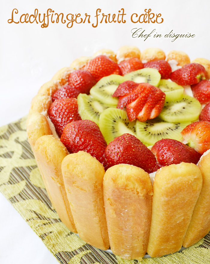 How To Make Lady Finger Cake