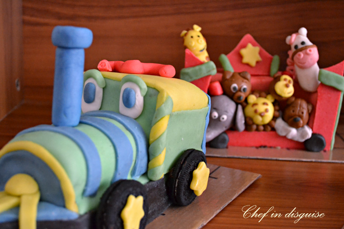 Sensational How To Make A Birthday Circus Train Cake Chef In Disguise Birthday Cards Printable Benkemecafe Filternl