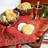 Maamoul (Stuffed shortbread cookies)