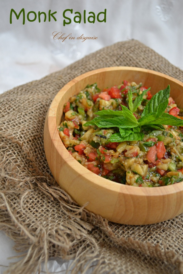 Tabbouleh a beautiful salad lost in the translation chef in disguise monk salad forumfinder Choice Image