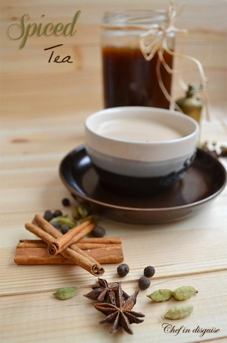 spice tea concentrate