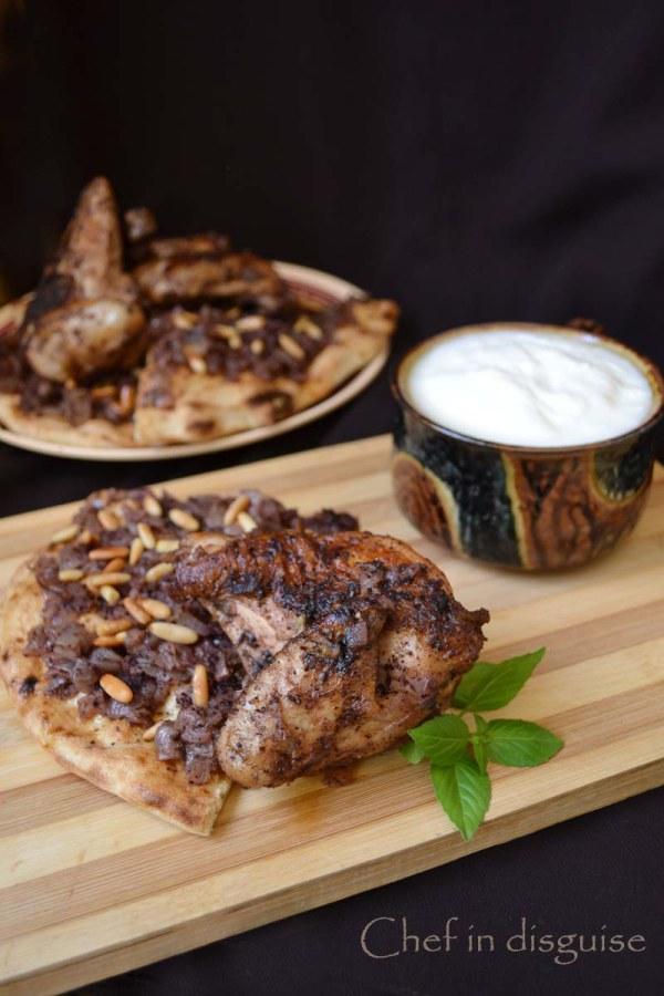 Musakhan Palestinian Sumac Chicken With Sauteed Onions