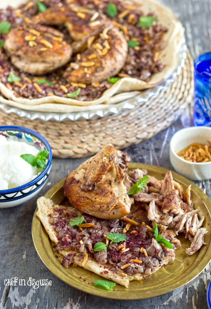 Musakhan Palestinian Sumac Chicken With Sauteed Onions Chef In Disguise