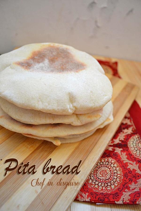 Pita bread recipe – how to make pita pockets | Chef in disguise