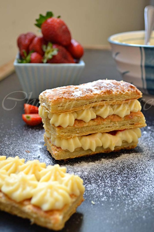 Mille-feuille recipe (homemade Napoleon recipe) | Chef in disguise