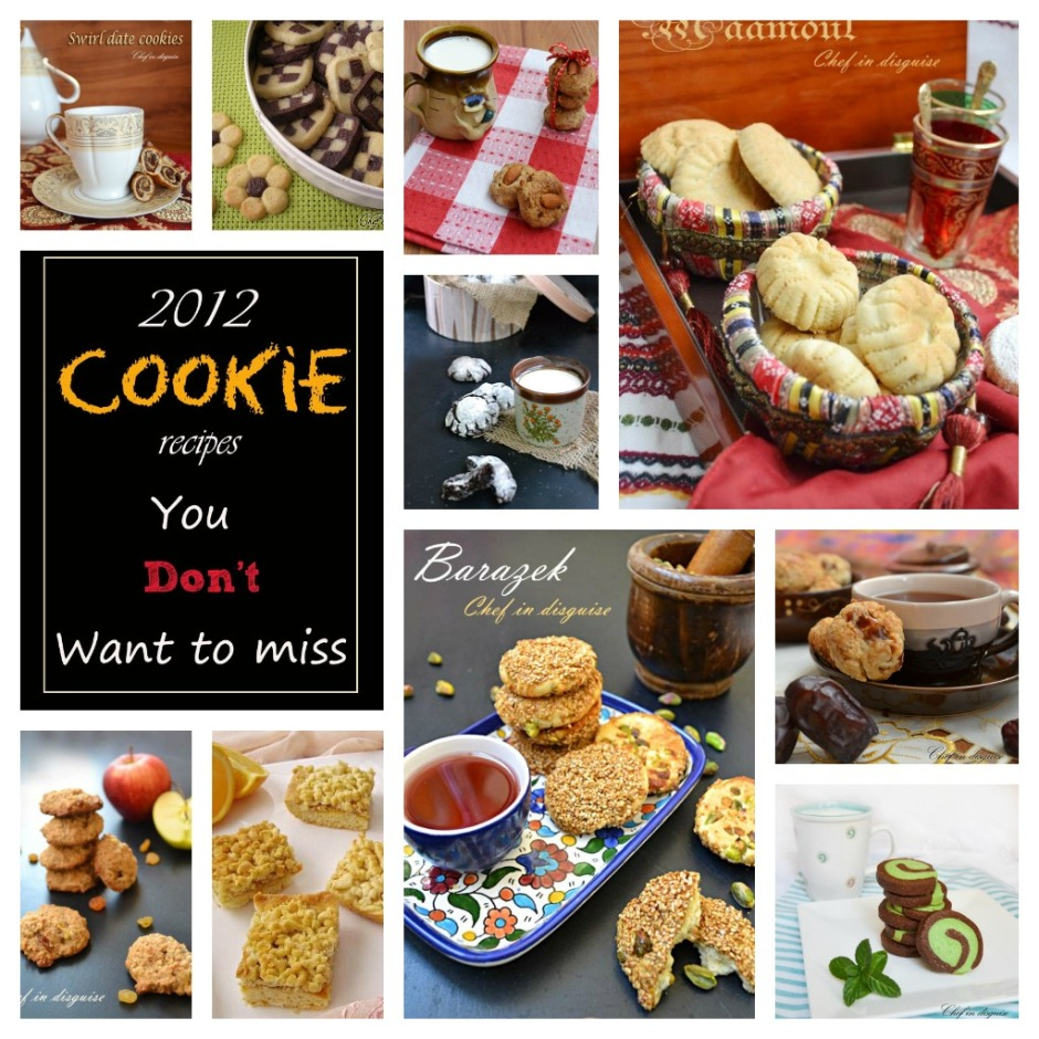 chef in disguise:cookie recipe round up