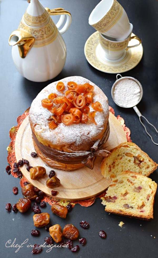 Chef in disguise :panettone