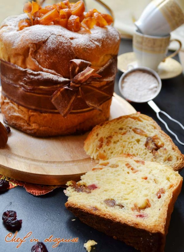 Chef in disguise:panettone bread