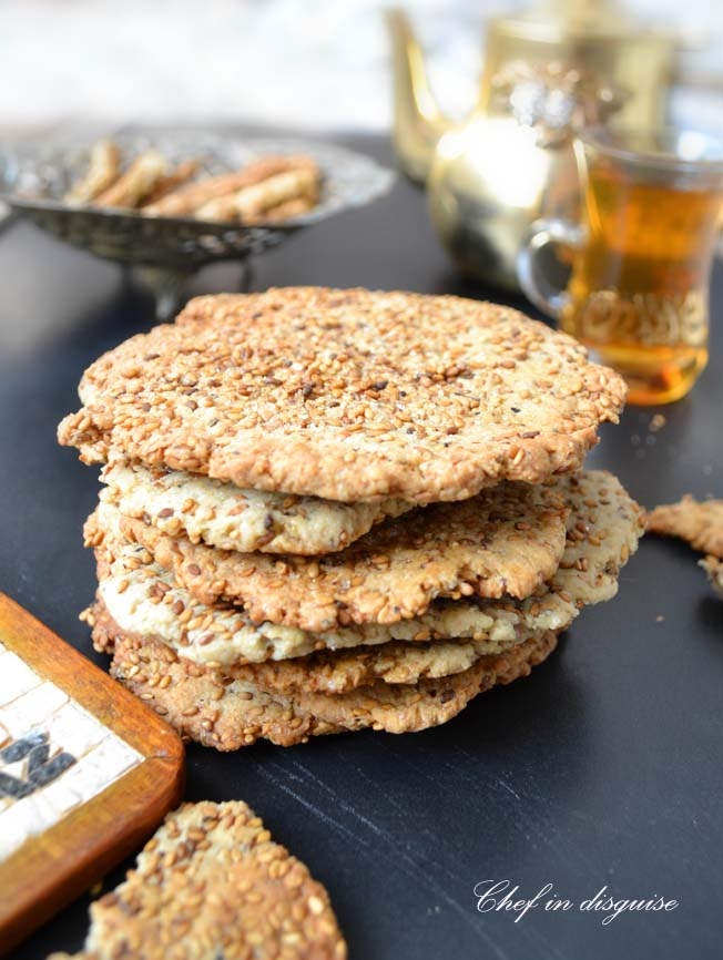 sesame crackers chef in disguise