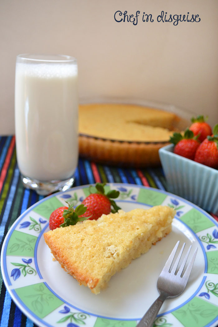 white bean coconut cake