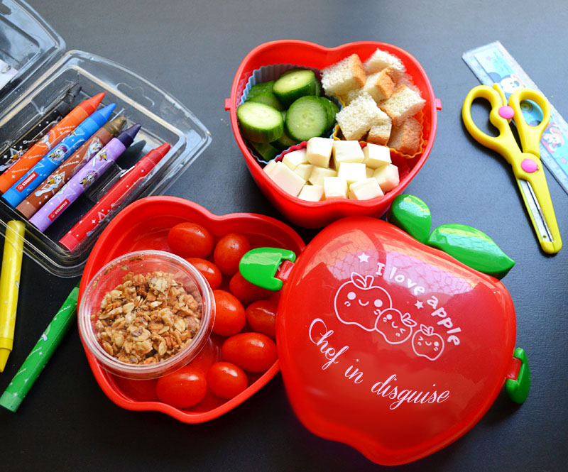 lunch box ideas- deconstruct it