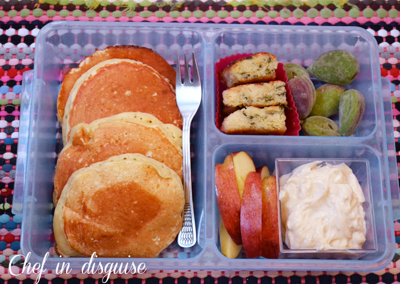 pancake lunch box