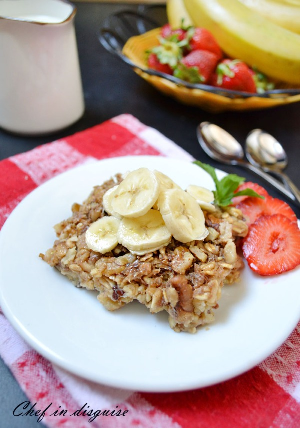 baked honey oatmeal