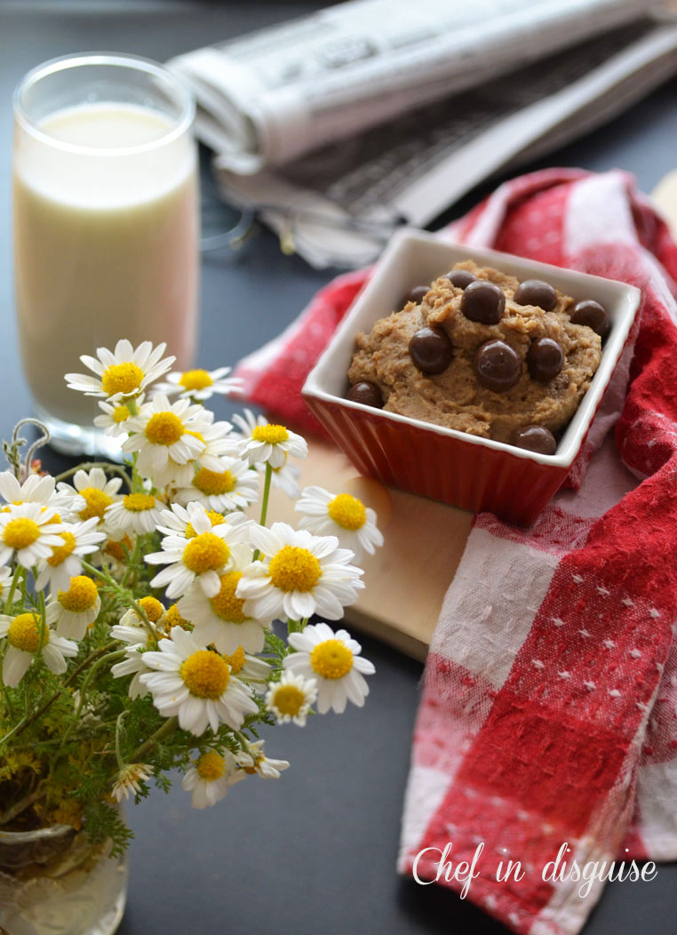 Healthy cookie dough dip (sneaky desserts take 3)Chef in disguise