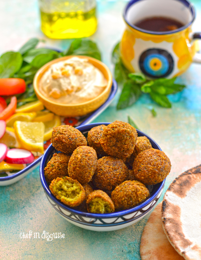 the ultimate falafel by chef in disguise