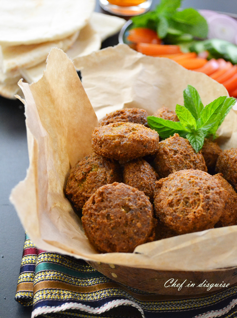 falafel from scratch