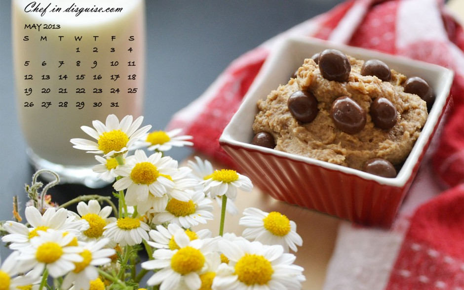 May cookie dip calendar