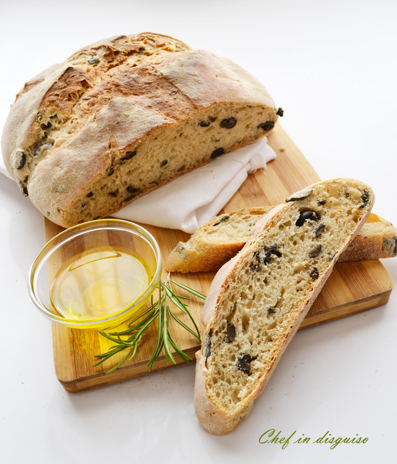 olive and rosemary sourdough