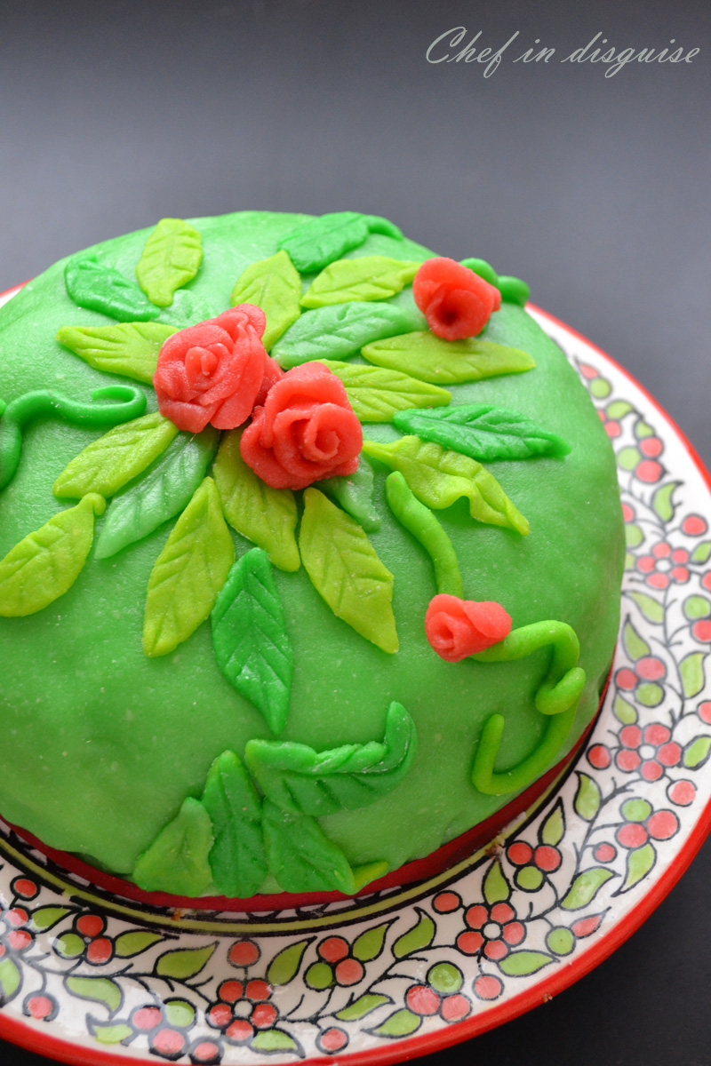 princess cake@ chef in disguise