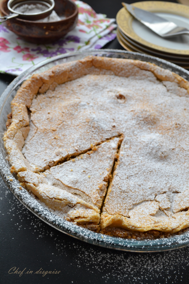 Crack pie, after you try the first slice, there is no turning back