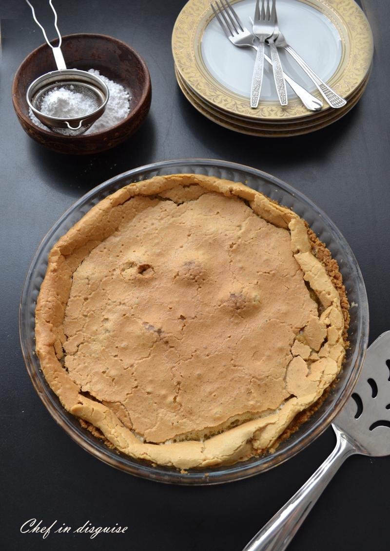 crack pie before dusting