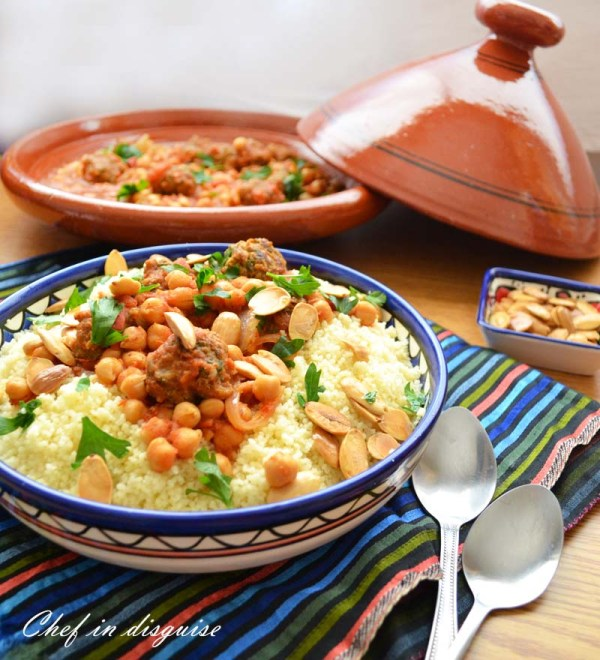 Moroccan meatballs with chickpeas a great way to spice up dinner