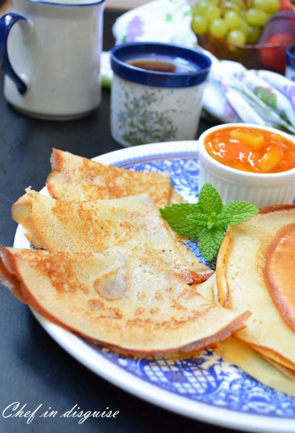sourdough crepes