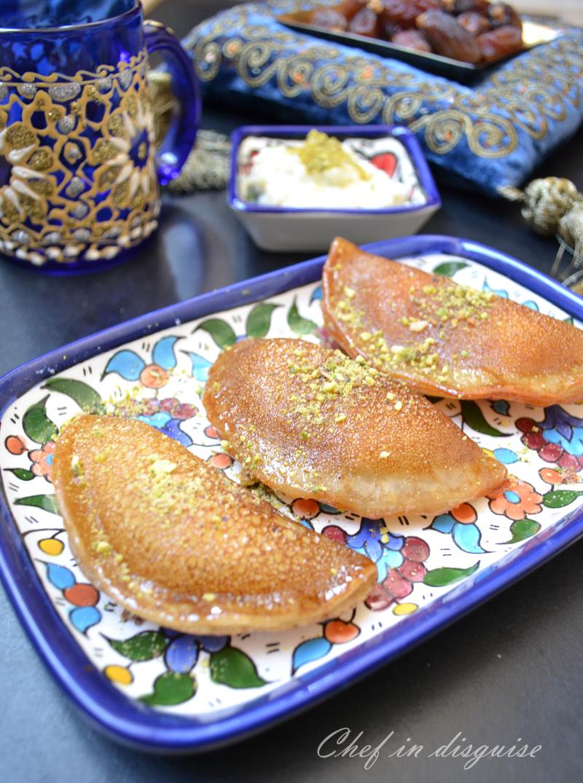 Almond Atayef