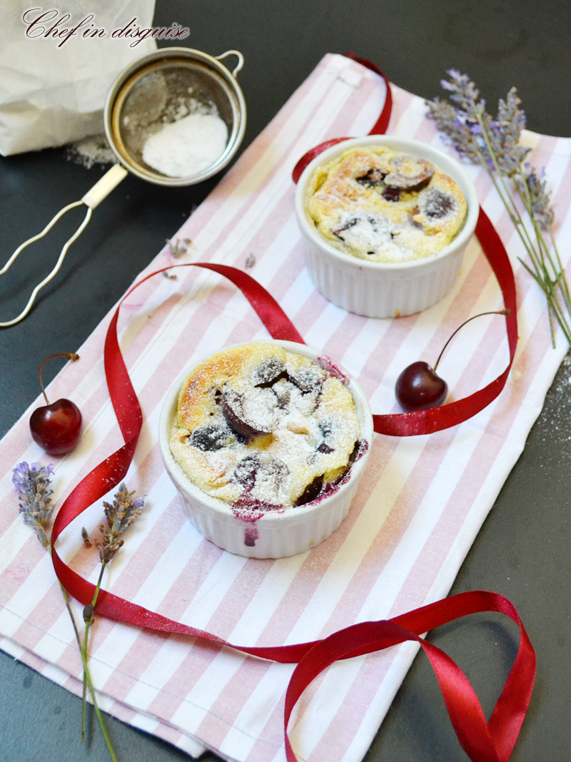 Cherry clafoutis, an easy and delicious summer dessert