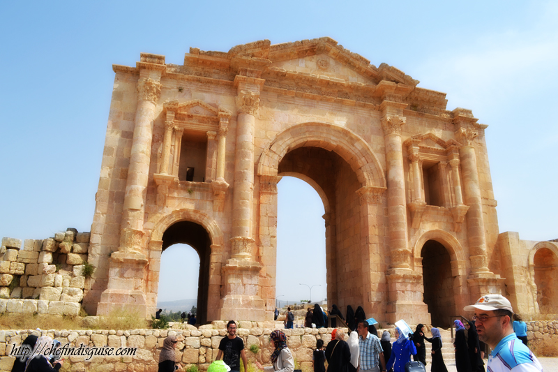Jerash gate picture