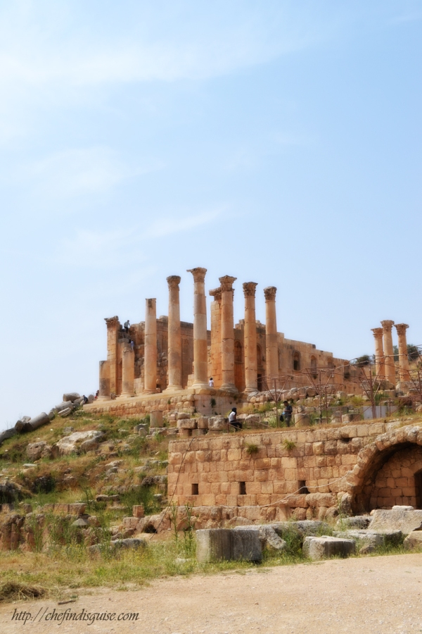 jerash south theater