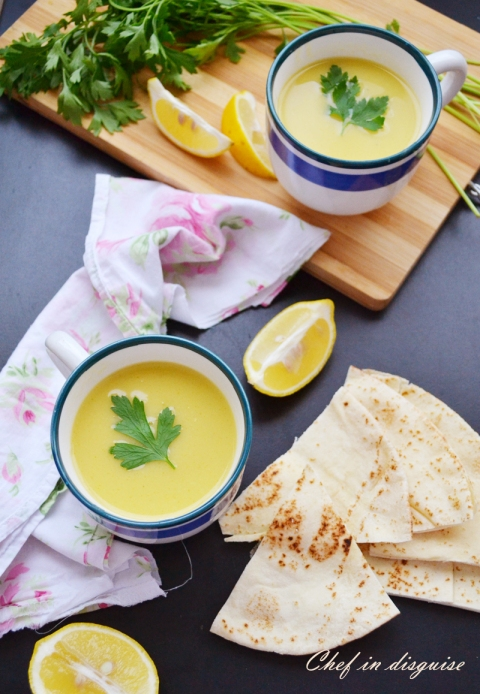 Chef in disguise: lentil soup