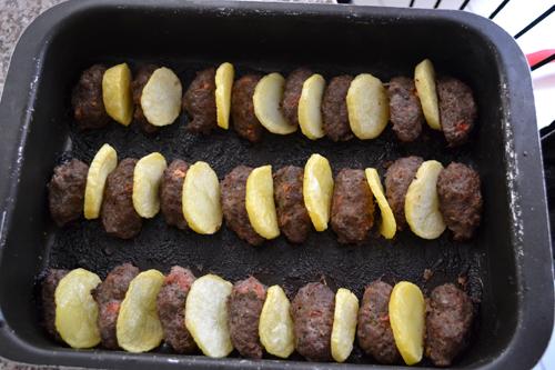 potato and kofta