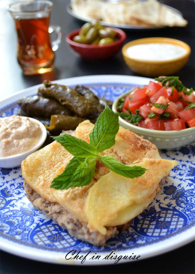 Tahini kofta, ground meat with citrus tahini sauce