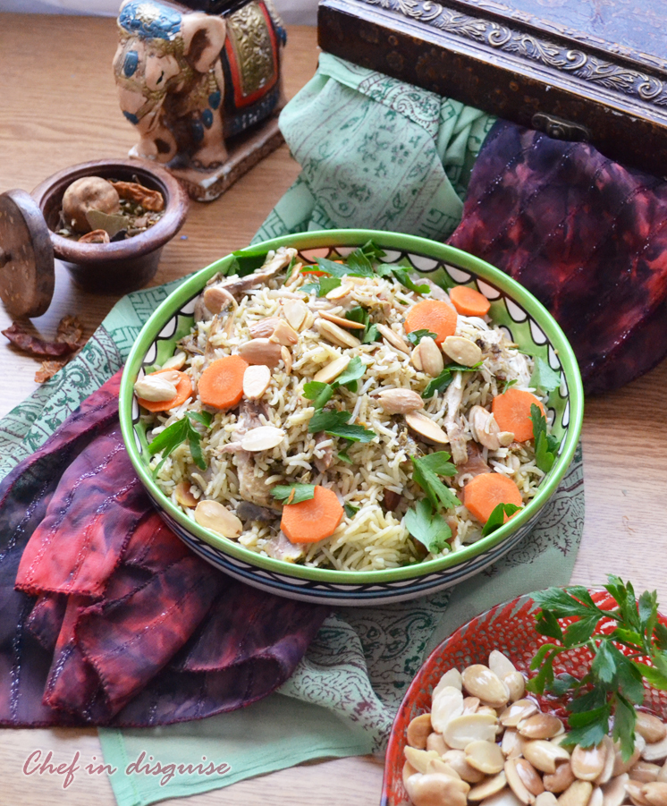 Chicken Biryani, easy with step by step instructions