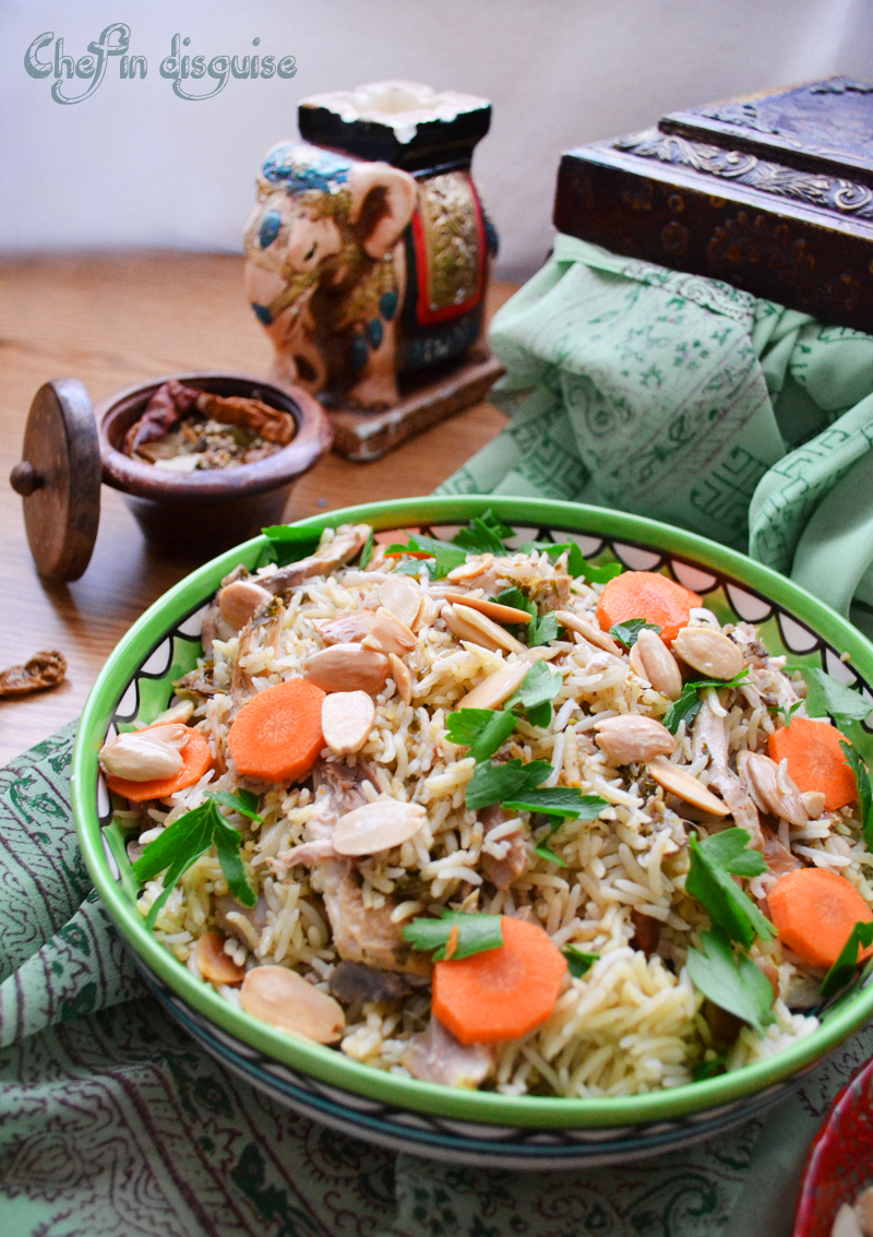 Chicken biryani, indian recipe